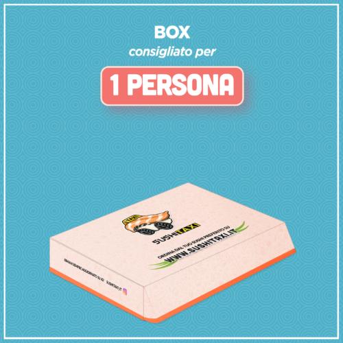Box consigliato per 1 persona