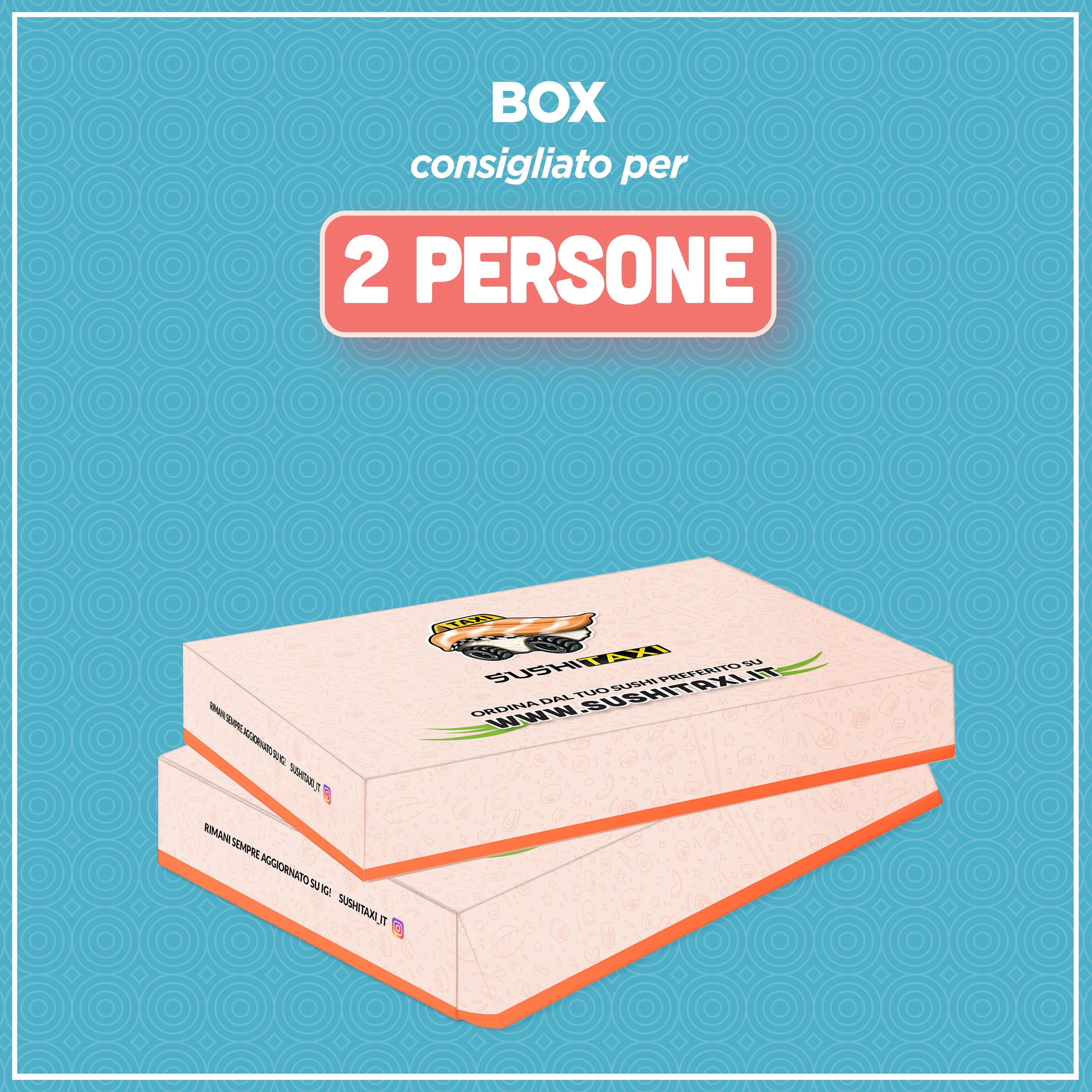 Box consigliato per 2 persone