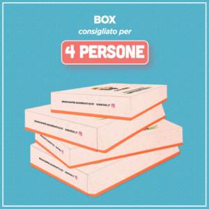Box consigliato per 4 persone