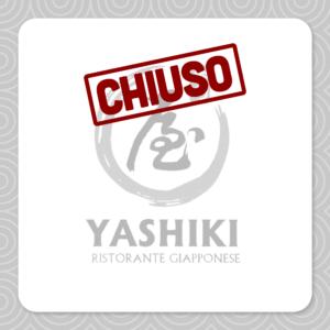 Il ristorante Yashiki oggi è chiuso.