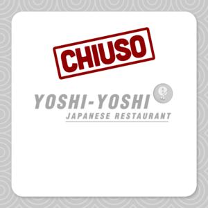 Il ristorante Yoshi-Yoshi oggi è chiuso.